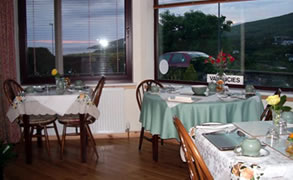 Broombank Ullapool Dining Area